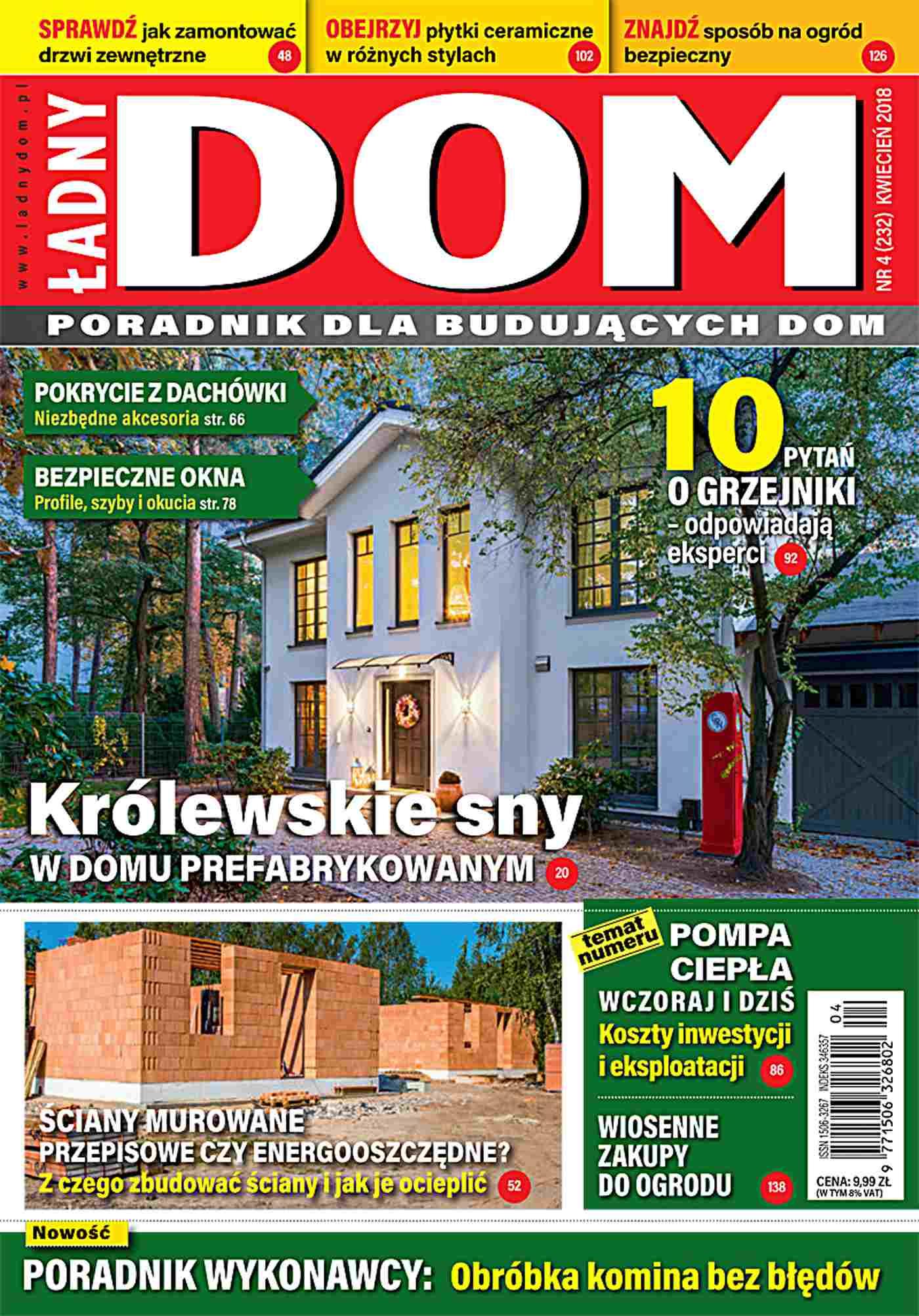Ładny Dom 4/2018 - Ebook (Książka PDF) do pobrania w formacie PDF