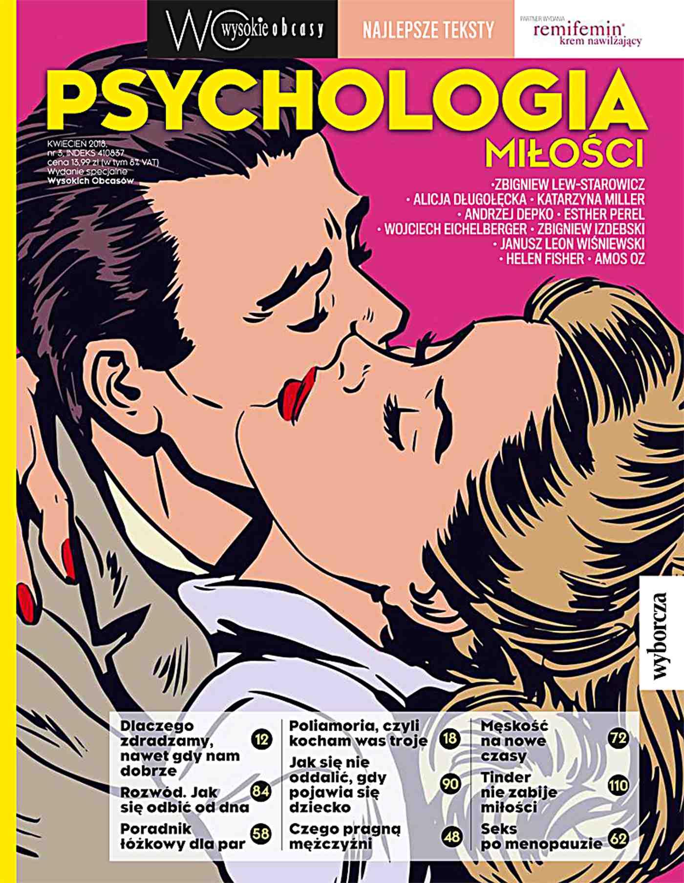 Psychologia miłości. Wysokie Obcasy. Wydanie Specjalne 3/2018 - Ebook (Książka na Kindle) do pobrania w formacie MOBI