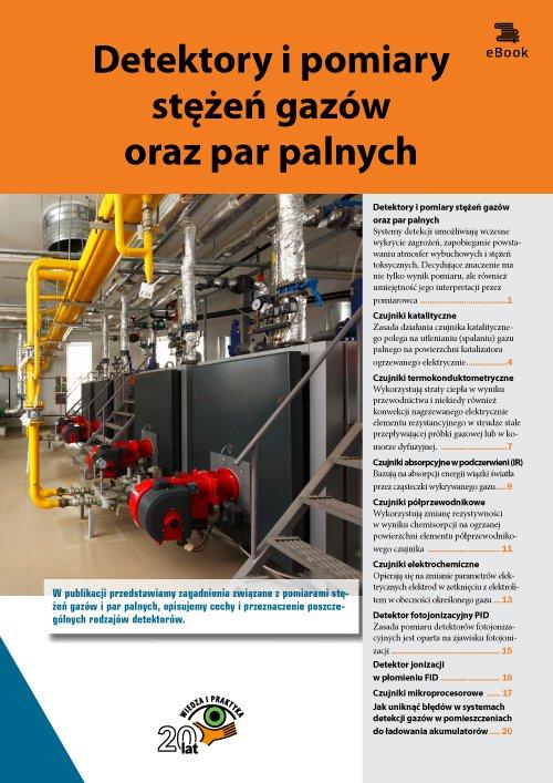 Detektory i pomiary stężeń gazów oraz par palnych - Ebook (Książka PDF) do pobrania w formacie PDF