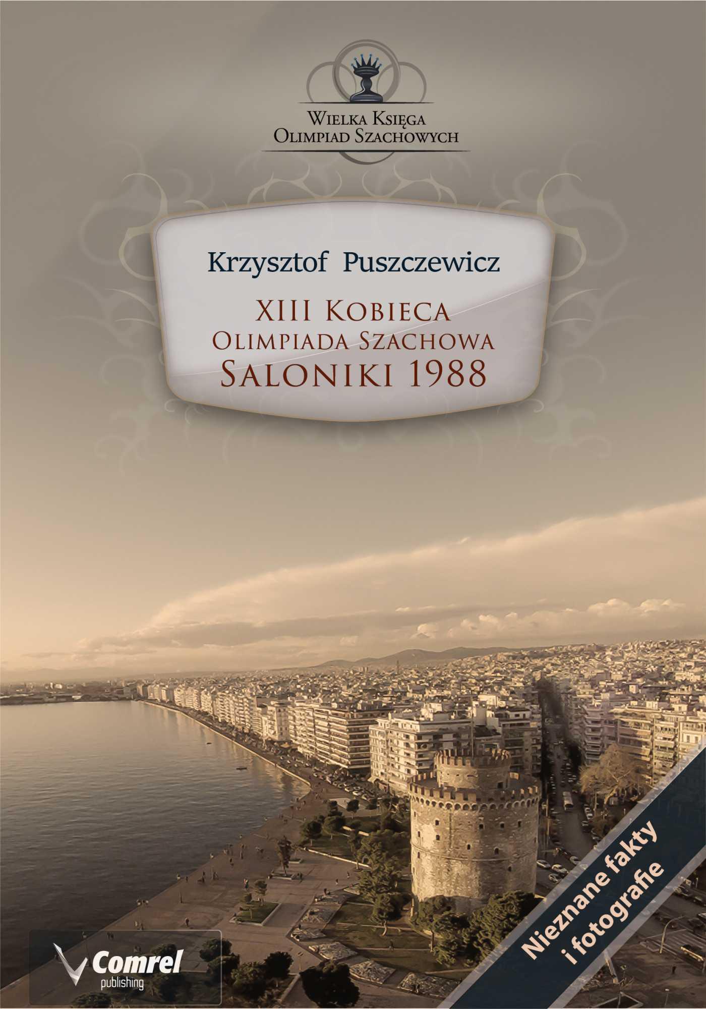 XIII Kobieca Olimpiada Szachowa - Saloniki 1988 - Ebook (Książka PDF) do pobrania w formacie PDF