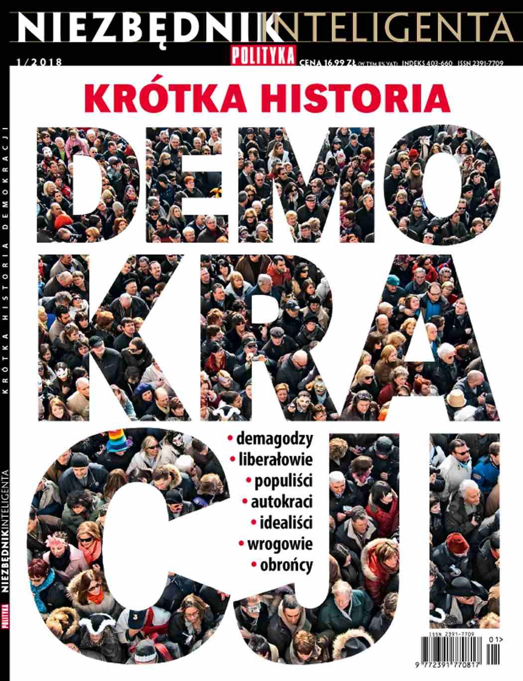 Niezbędnik inteligenta. Krótka historia Demokracji - Ebook (Książka PDF) do pobrania w formacie PDF