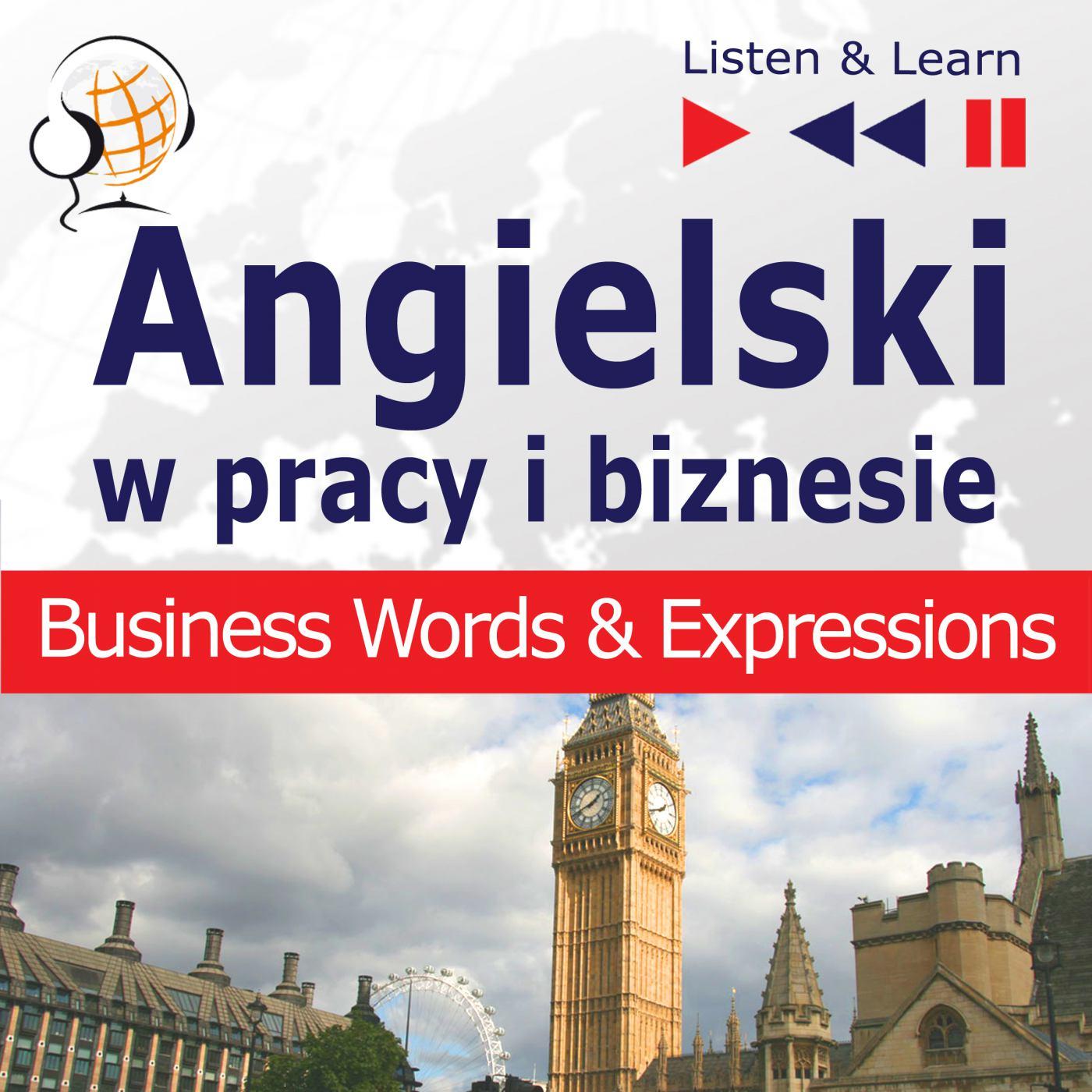 Angielski w pracy i biznesie - Audiobook (Książka audio MP3) do pobrania w całości w archiwum ZIP