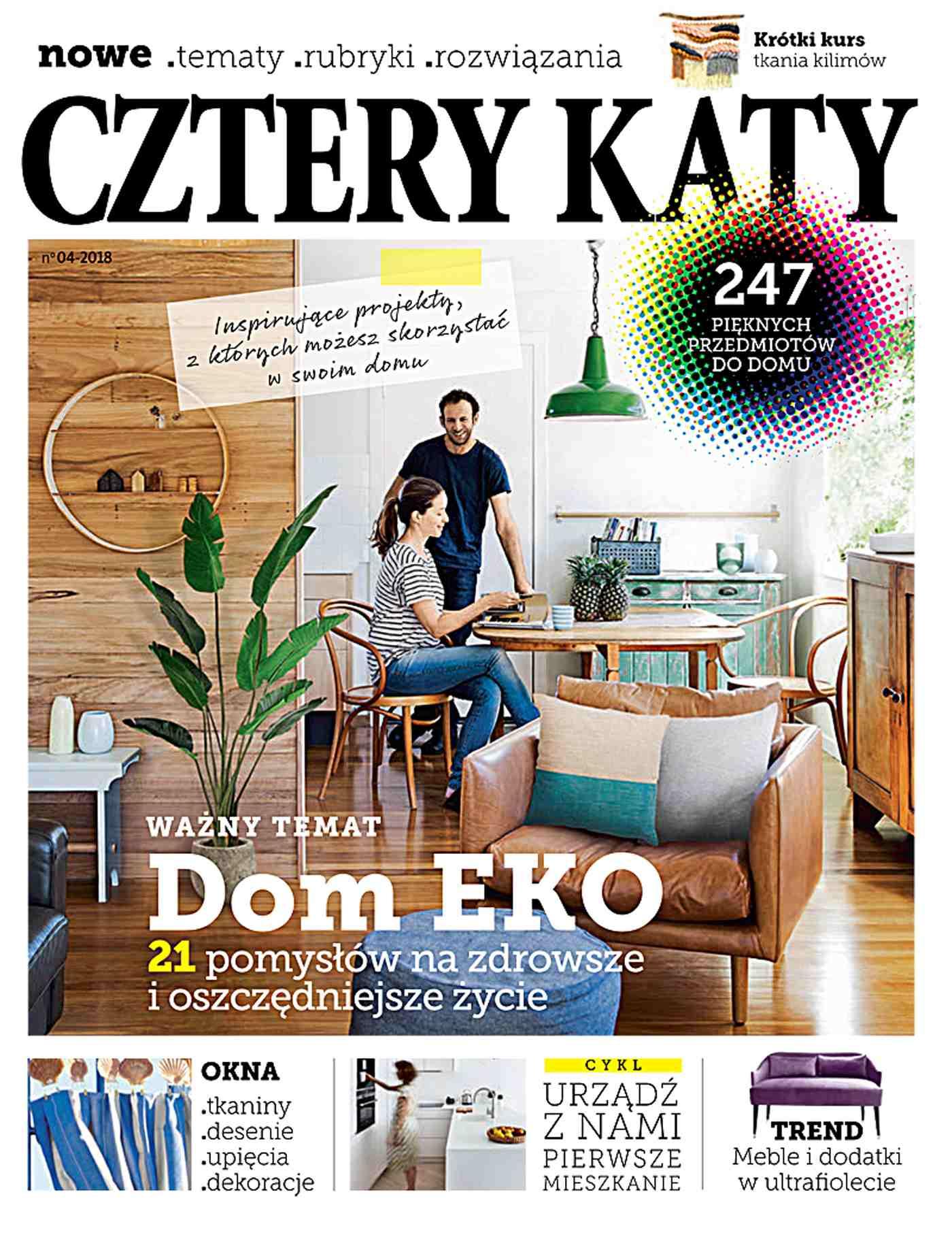 Cztery Kąty 4/2018 - Ebook (Książka PDF) do pobrania w formacie PDF