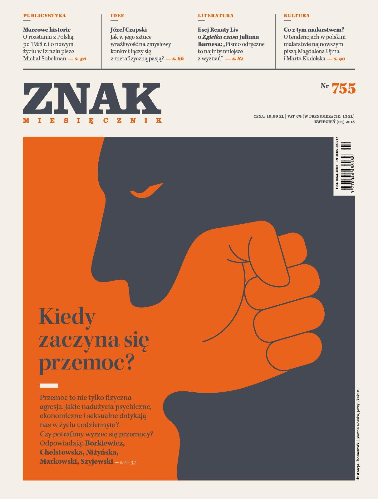 Miesięcznik ZNAK nr 755: Kiedy zaczyna się przemoc? - Ebook (Książka EPUB) do pobrania w formacie EPUB