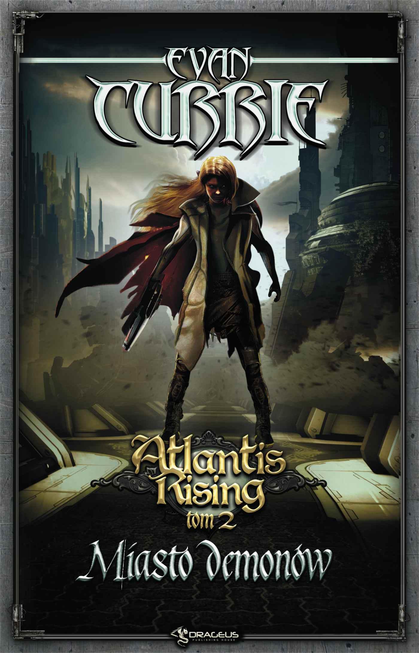 Atlantis Rising. Tom 2. Miasto demonów - Ebook (Książka na Kindle) do pobrania w formacie MOBI