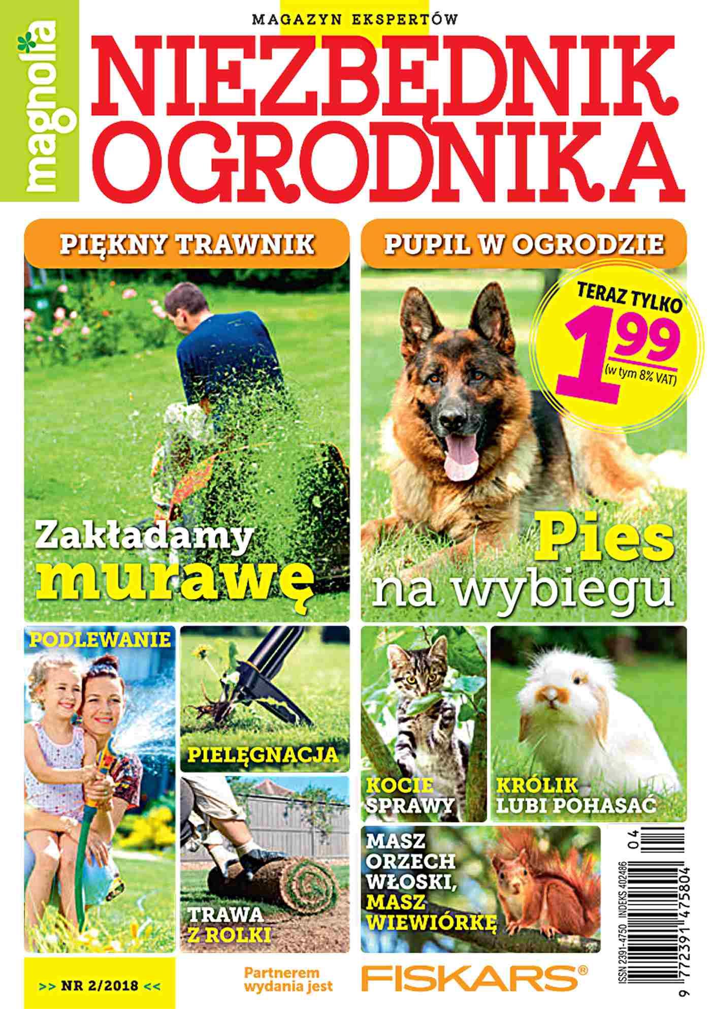 Niezbędnik Ogrodnika 2/2018 - Ebook (Książka PDF) do pobrania w formacie PDF