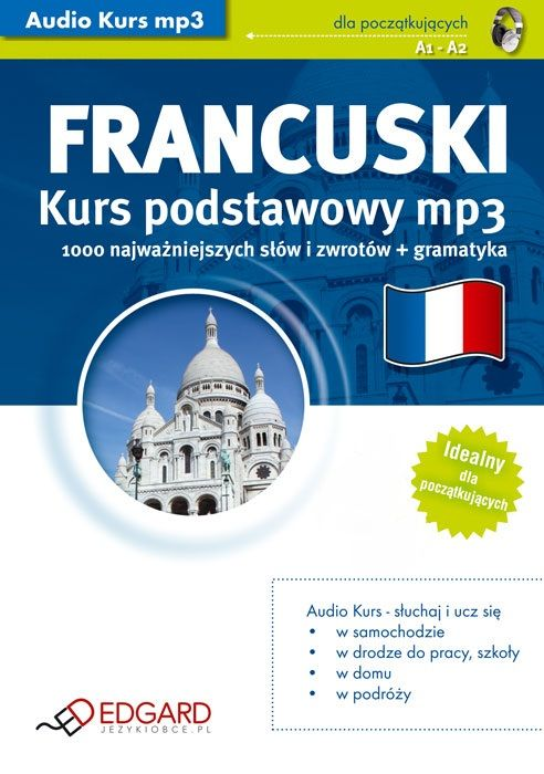 Francuski Kurs podstawowy - Audiobook (Książka audio MP3) do pobrania w całości w archiwum ZIP