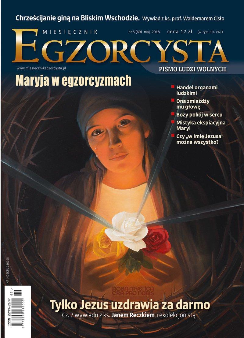 Miesięcznik Egzorcysta 69. Maj 2018 - Ebook (Książka PDF) do pobrania w formacie PDF