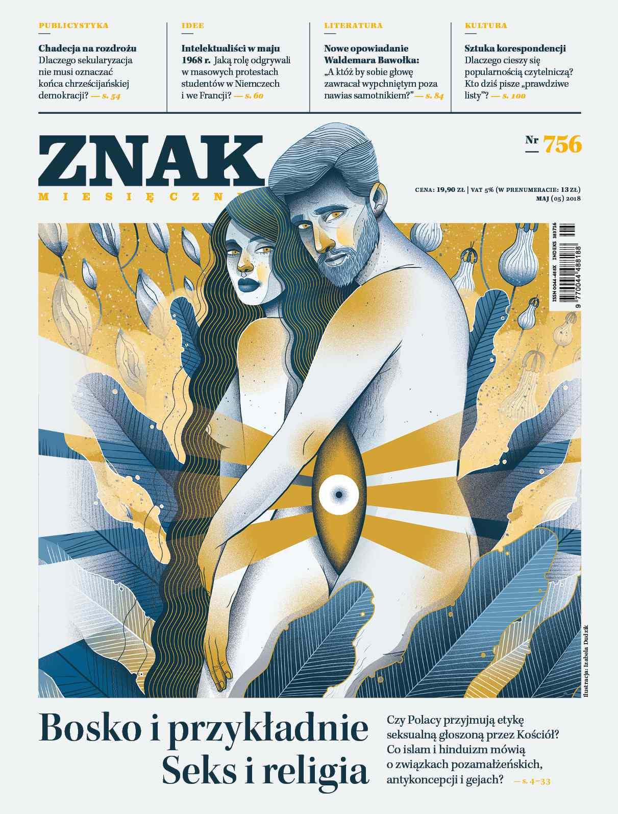 Miesięcznik ZNAK nr 756: Bosko i przykładnie. Seks i religia - Ebook (Książka EPUB) do pobrania w formacie EPUB