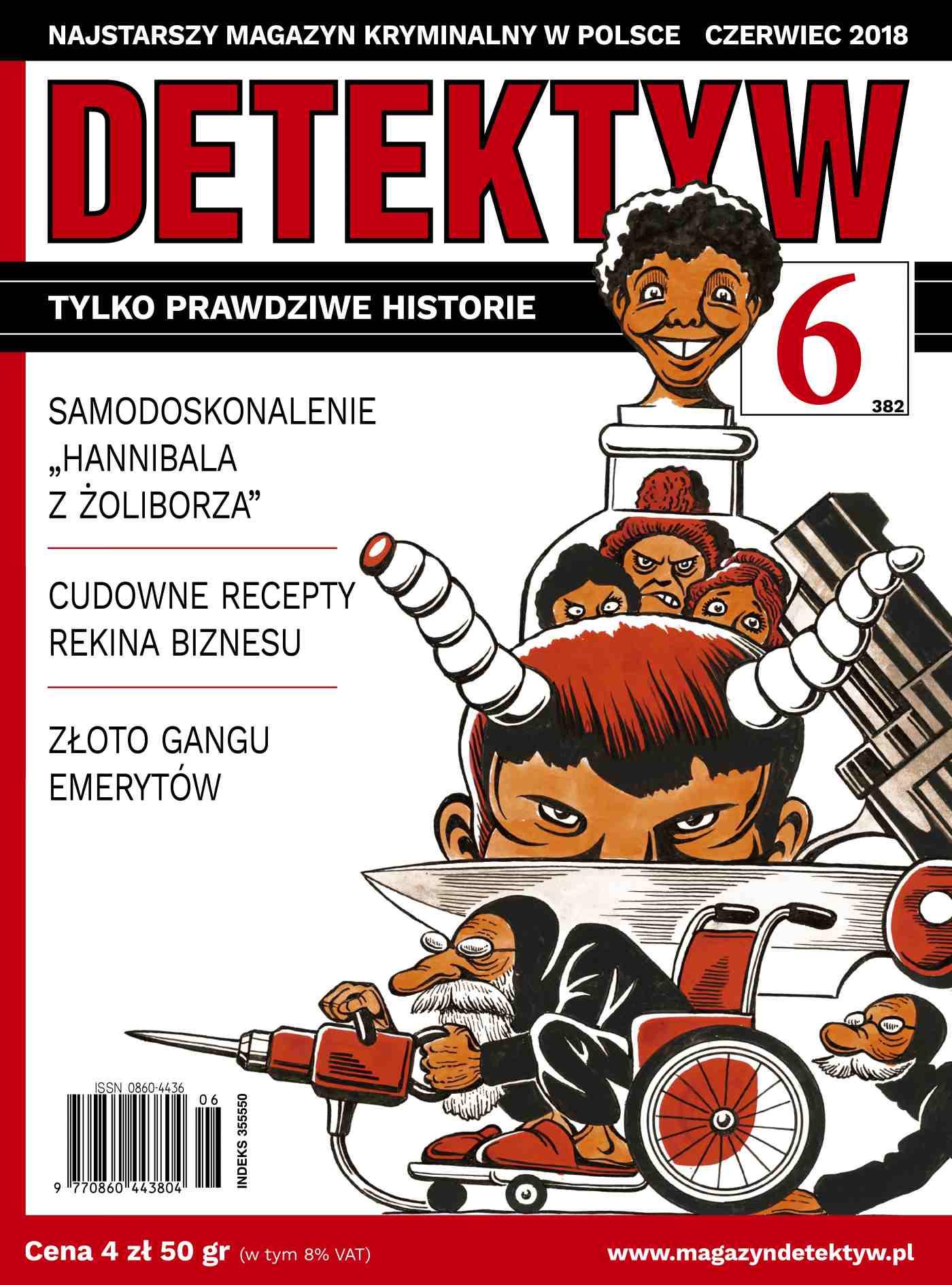 Detektyw 6/2018 - Ebook (Książka PDF) do pobrania w formacie PDF