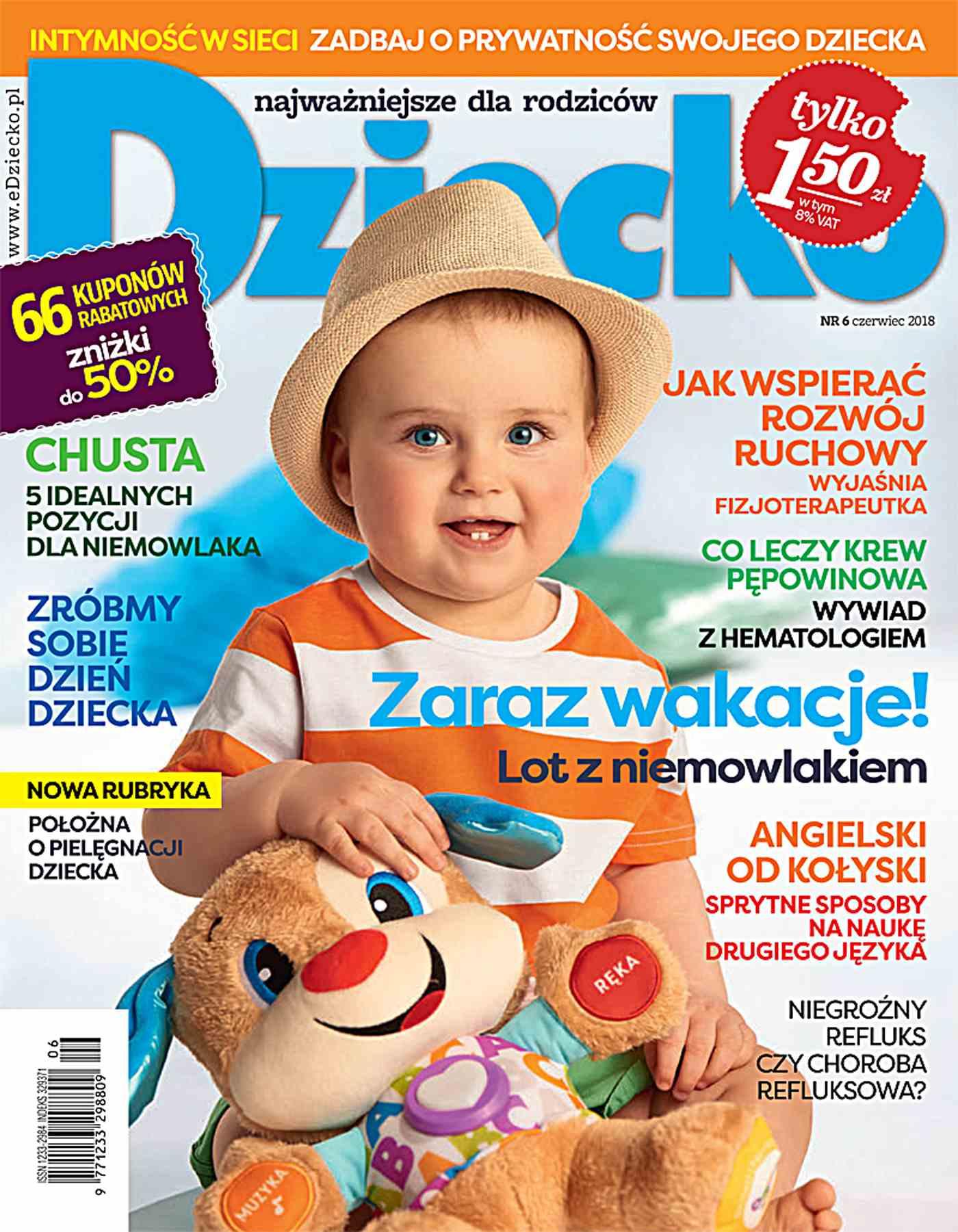 Dziecko 6/2018 - Ebook (Książka PDF) do pobrania w formacie PDF