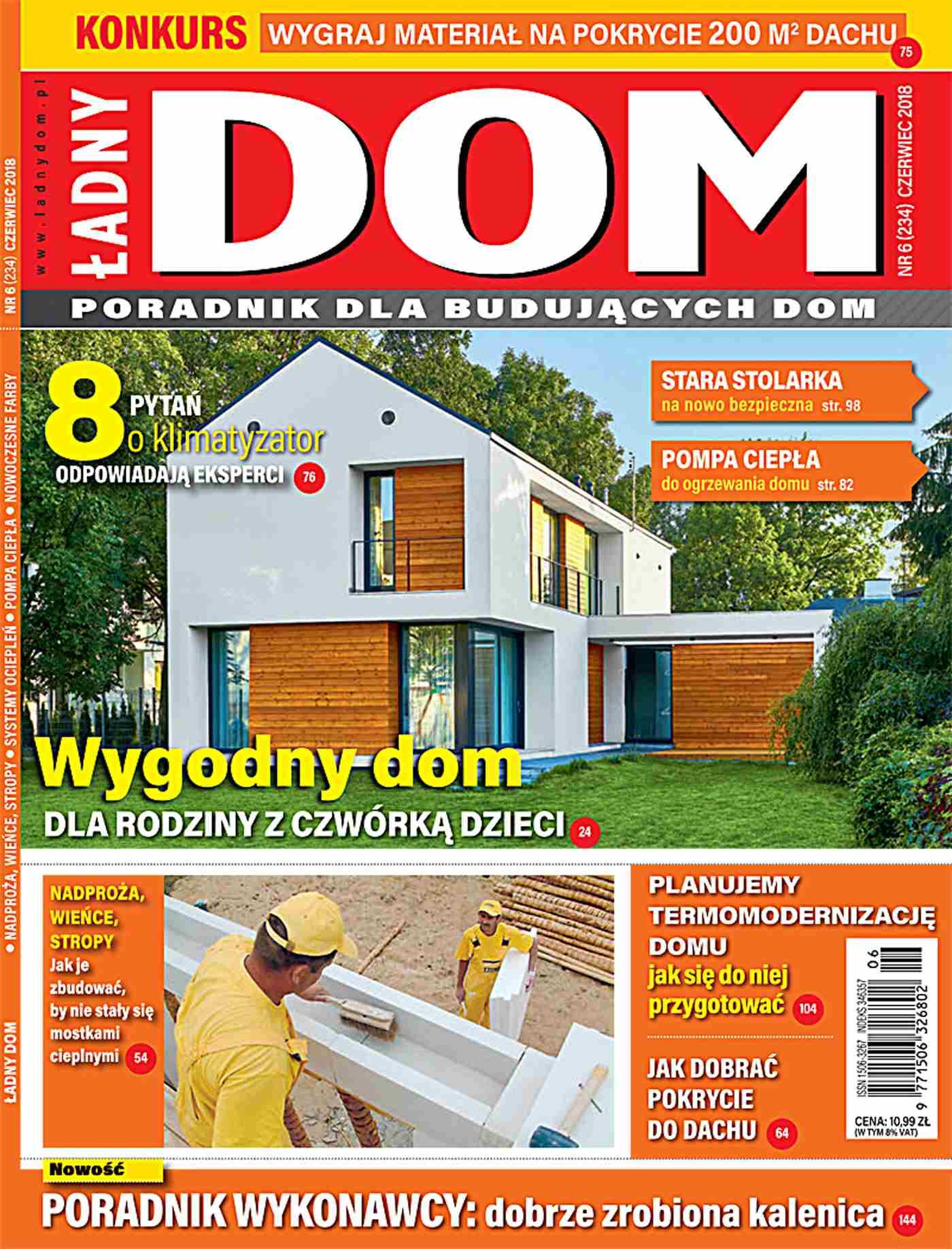 Ładny Dom 6/2018 - Ebook (Książka PDF) do pobrania w formacie PDF