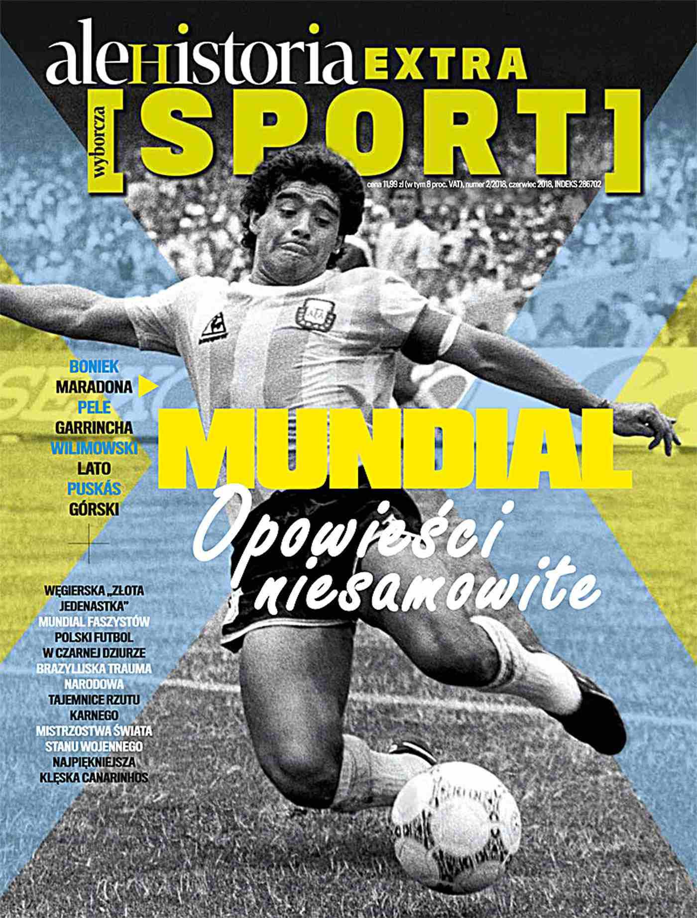 Ale Historia Extra. Mundial. Opowieści niesamowite 2/2018 - Ebook (Książka PDF) do pobrania w formacie PDF