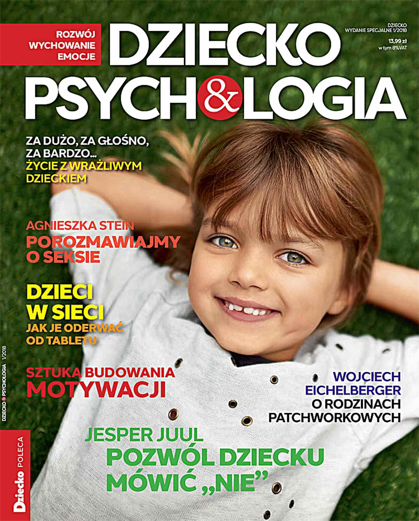 Dziecko & Psychologia. Dziecko. Wydanie Specjalne  1/2018 - Ebook (Książka PDF) do pobrania w formacie PDF