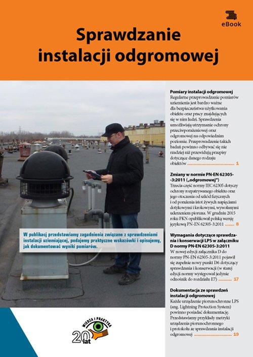 Sprawdzanie instalacji odgromowej - Ebook (Książka PDF) do pobrania w formacie PDF