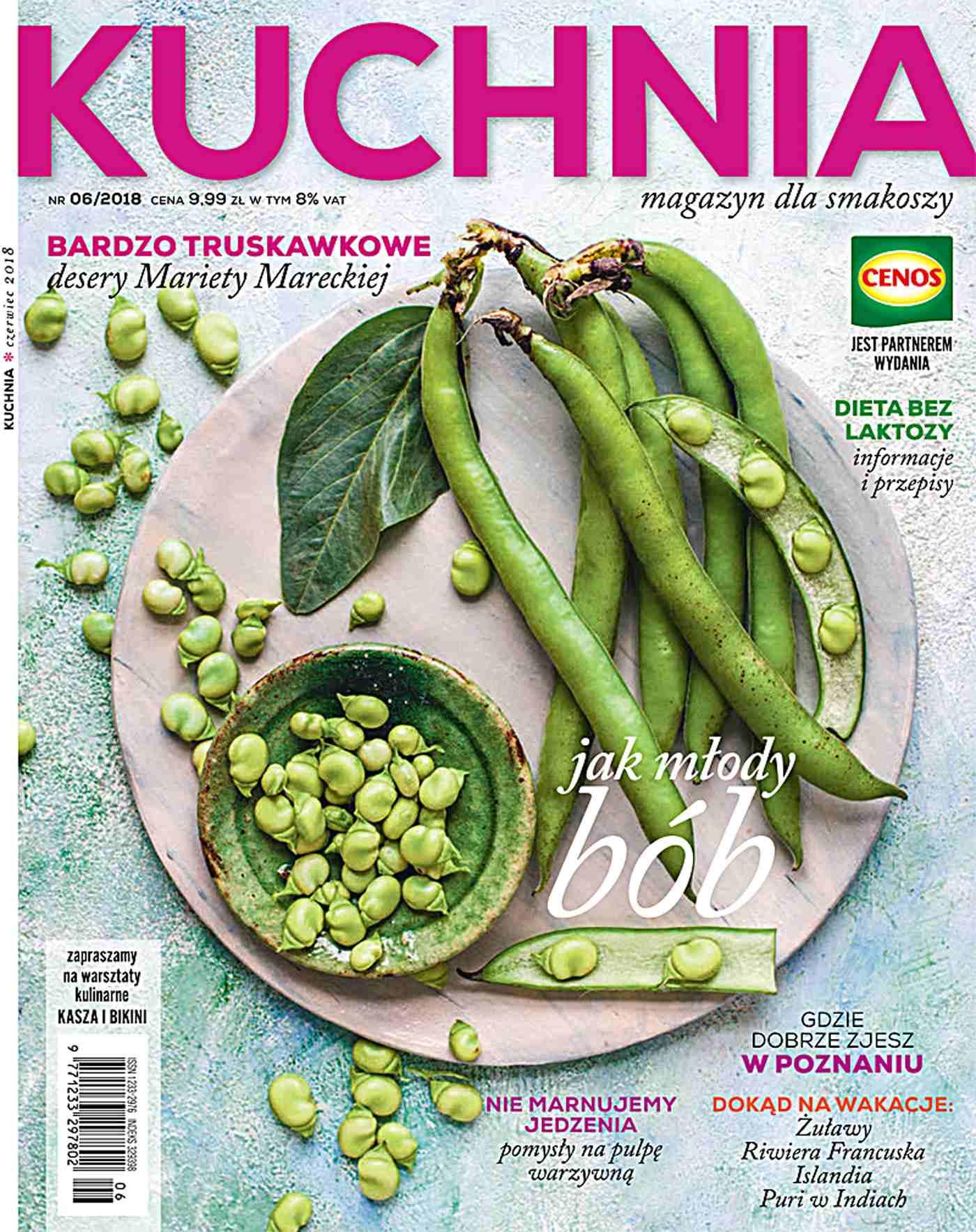 Kuchnia 6/2018 - Ebook (Książka PDF) do pobrania w formacie PDF