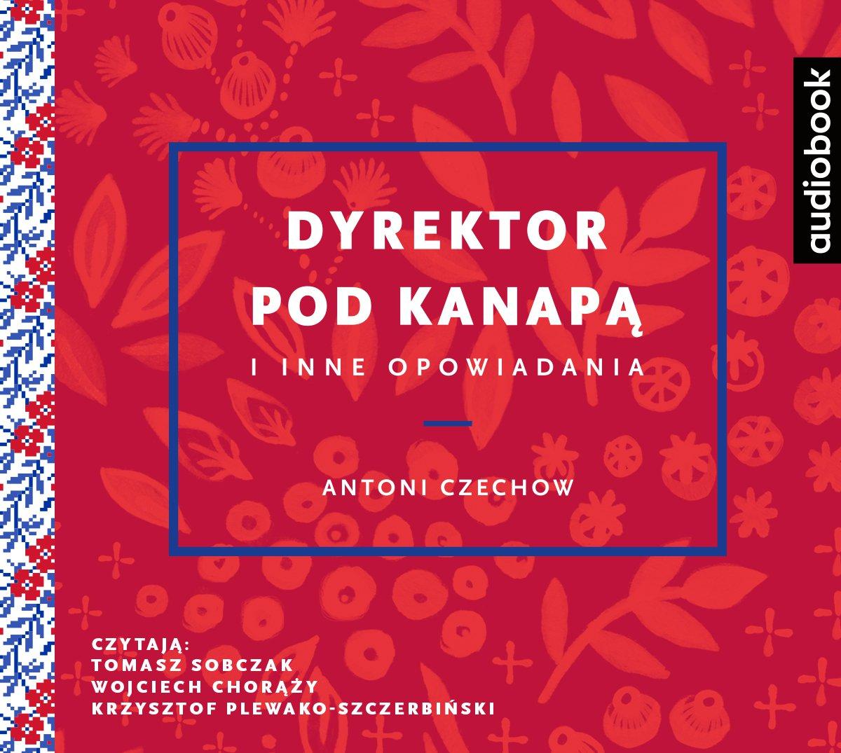Dyrektor pod kanapą i inne opowiadania - Audiobook (Książka audio MP3) do pobrania w całości w archiwum ZIP