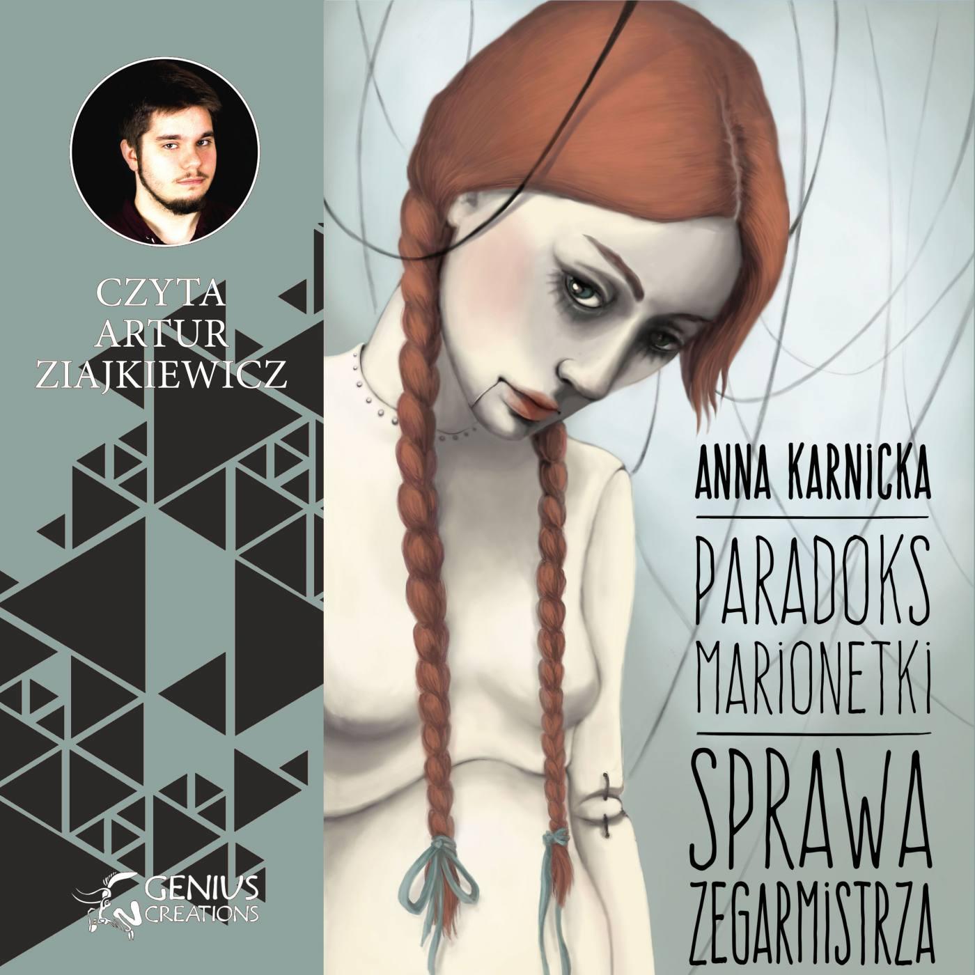 Paradoks Marionetki: Sprawa Zegarmistrza - Audiobook (Książka audio MP3) do pobrania w całości w archiwum ZIP