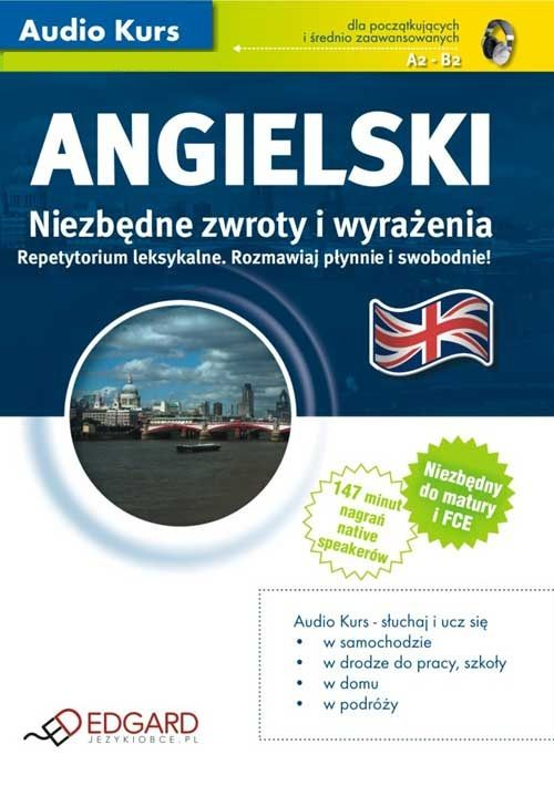 Angielski Niezbędne zwroty i wyrażenia - Audiobook (Książka audio MP3) do pobrania w całości w archiwum ZIP