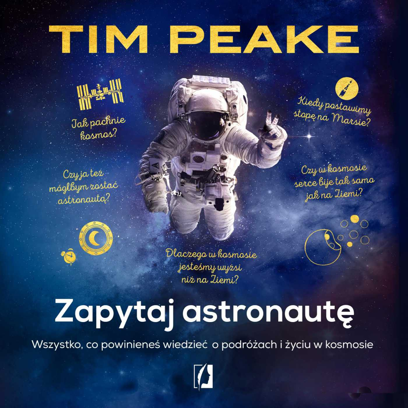 Zapytaj astronautę - Audiobook (Książka audio MP3) do pobrania w całości w archiwum ZIP