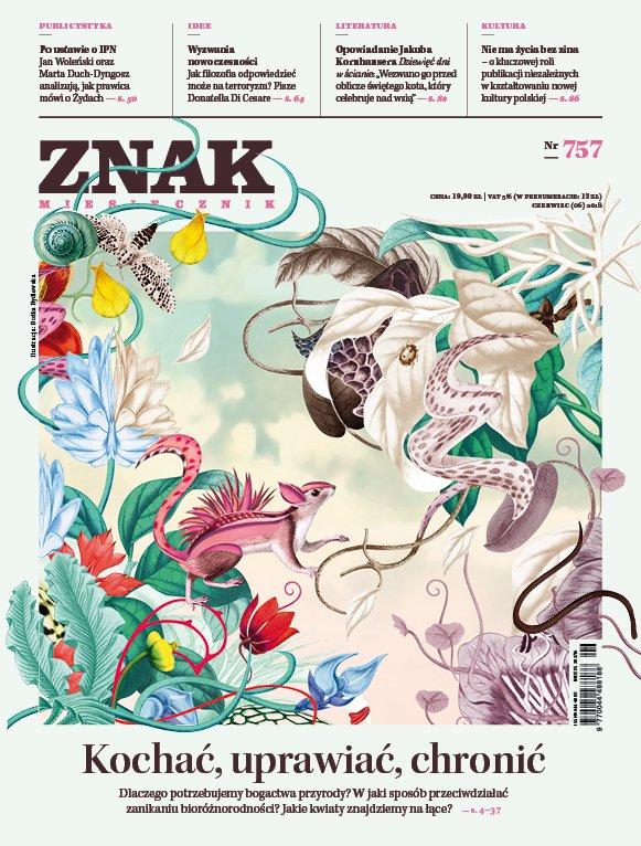 Miesięcznik ZNAK nr 757: Kochać, uprawiać, chronić - Ebook (Książka EPUB) do pobrania w formacie EPUB