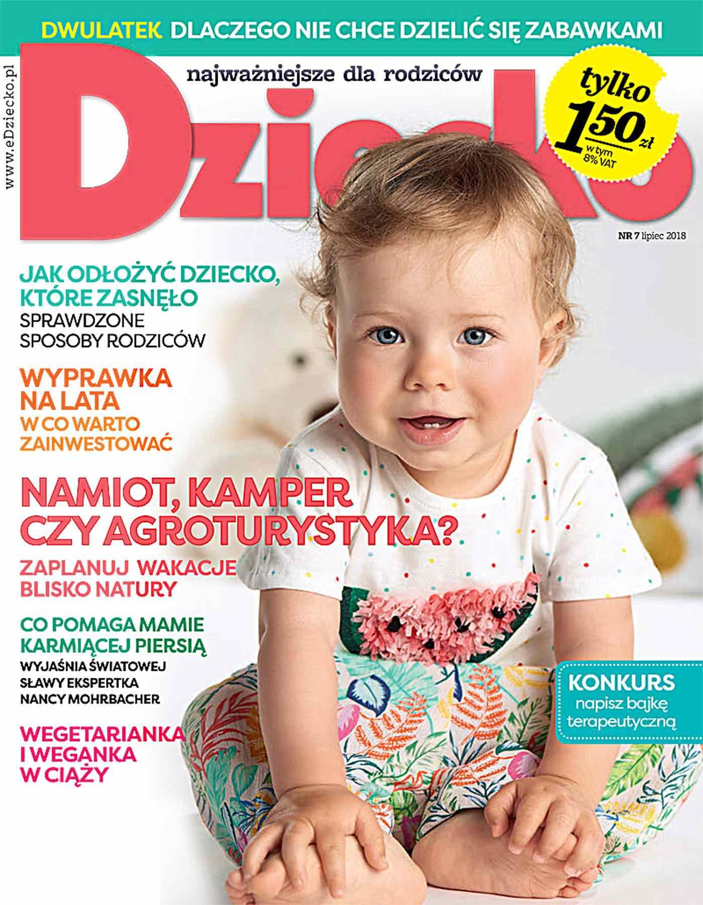 Dziecko 7/2018 - Ebook (Książka PDF) do pobrania w formacie PDF
