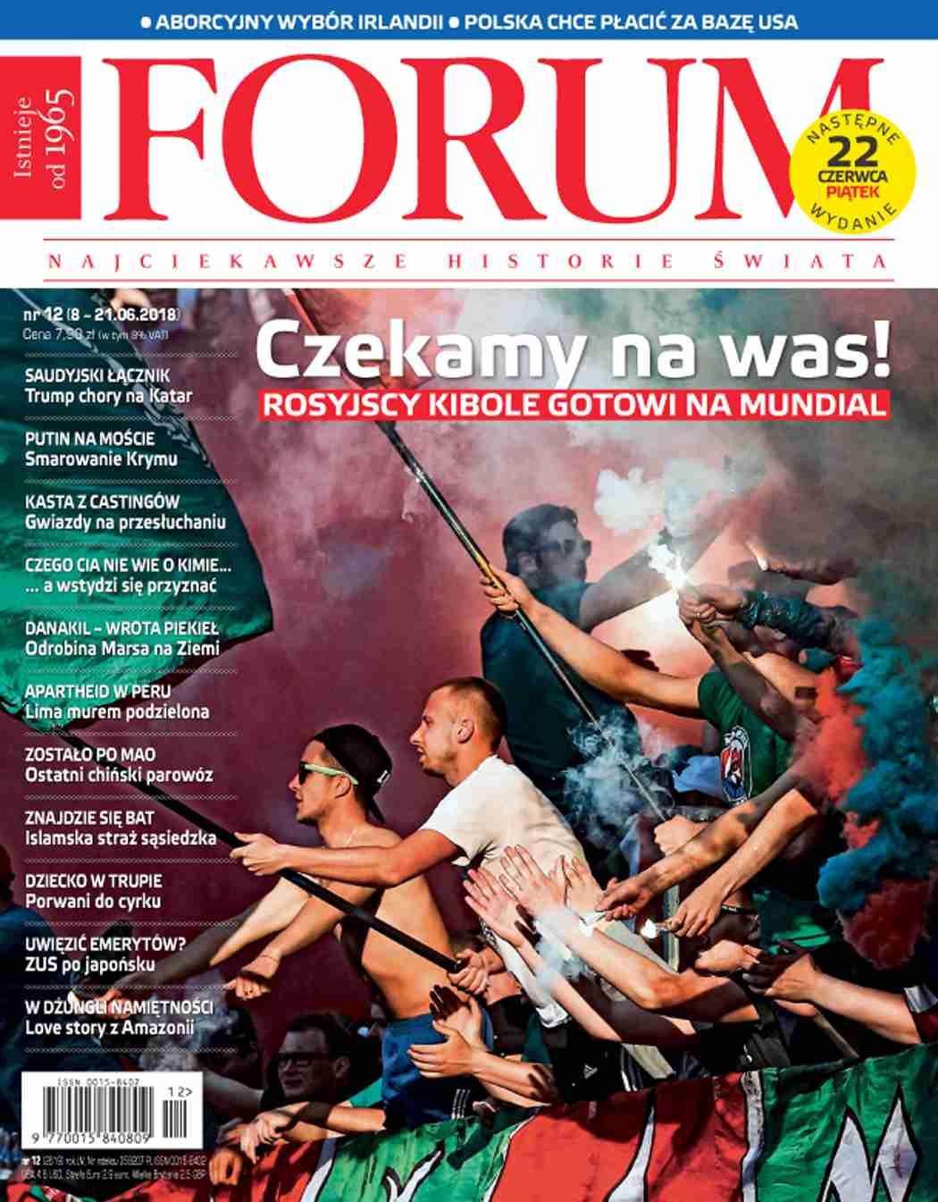 Forum nr 12/2018 - Ebook (Książka PDF) do pobrania w formacie PDF