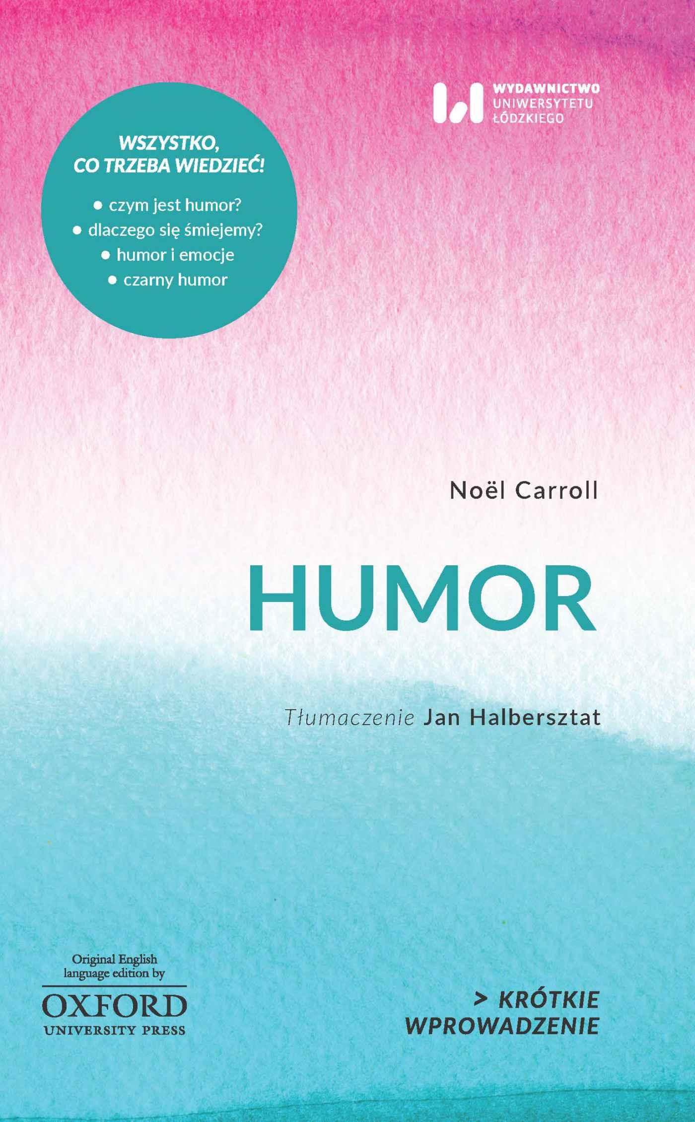 Humor. Krótkie Wprowadzenie 12 - Ebook (Książka PDF) do pobrania w formacie PDF