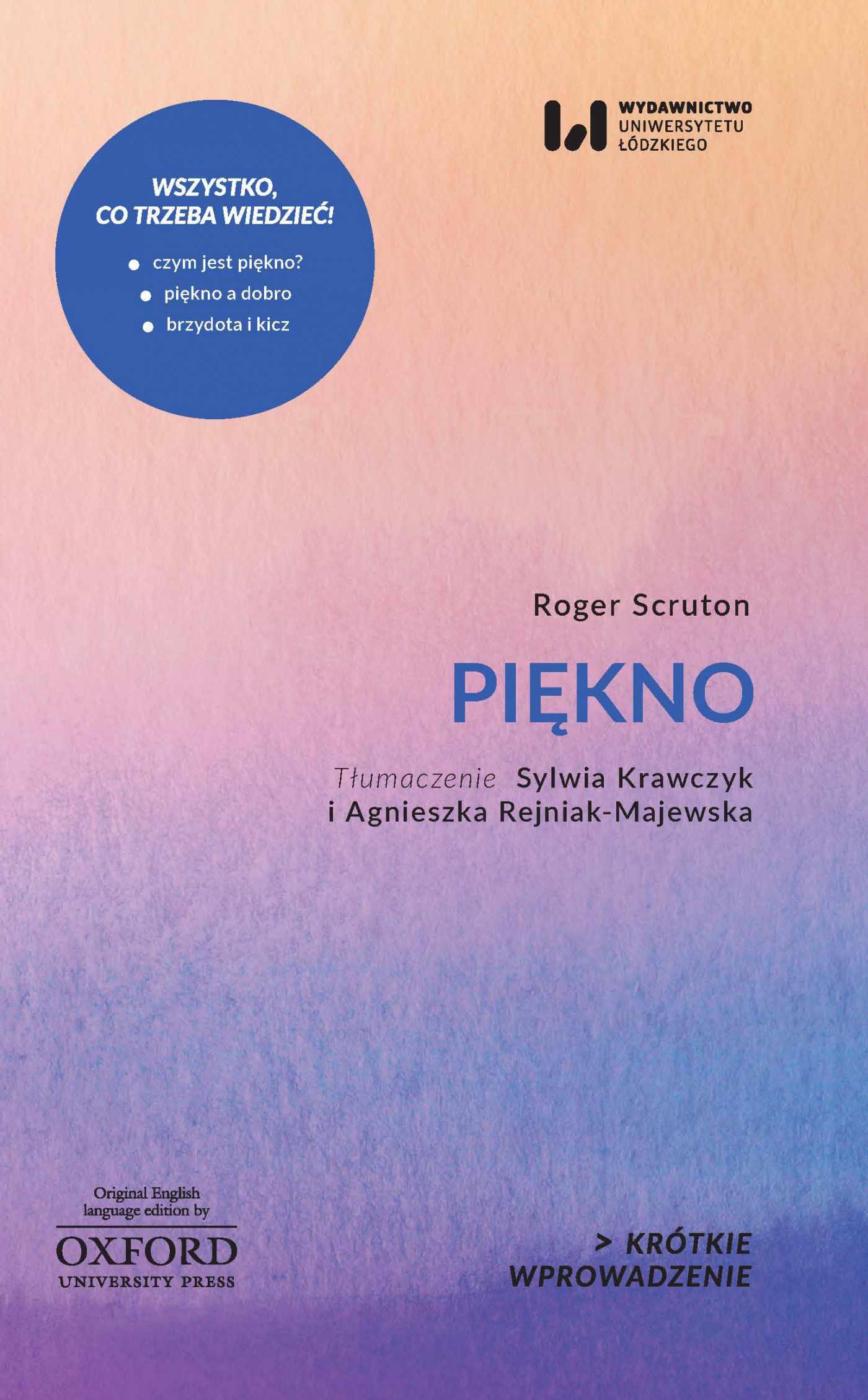 Piękno. Krótkie Wprowadzenie 14 - Ebook (Książka PDF) do pobrania w formacie PDF