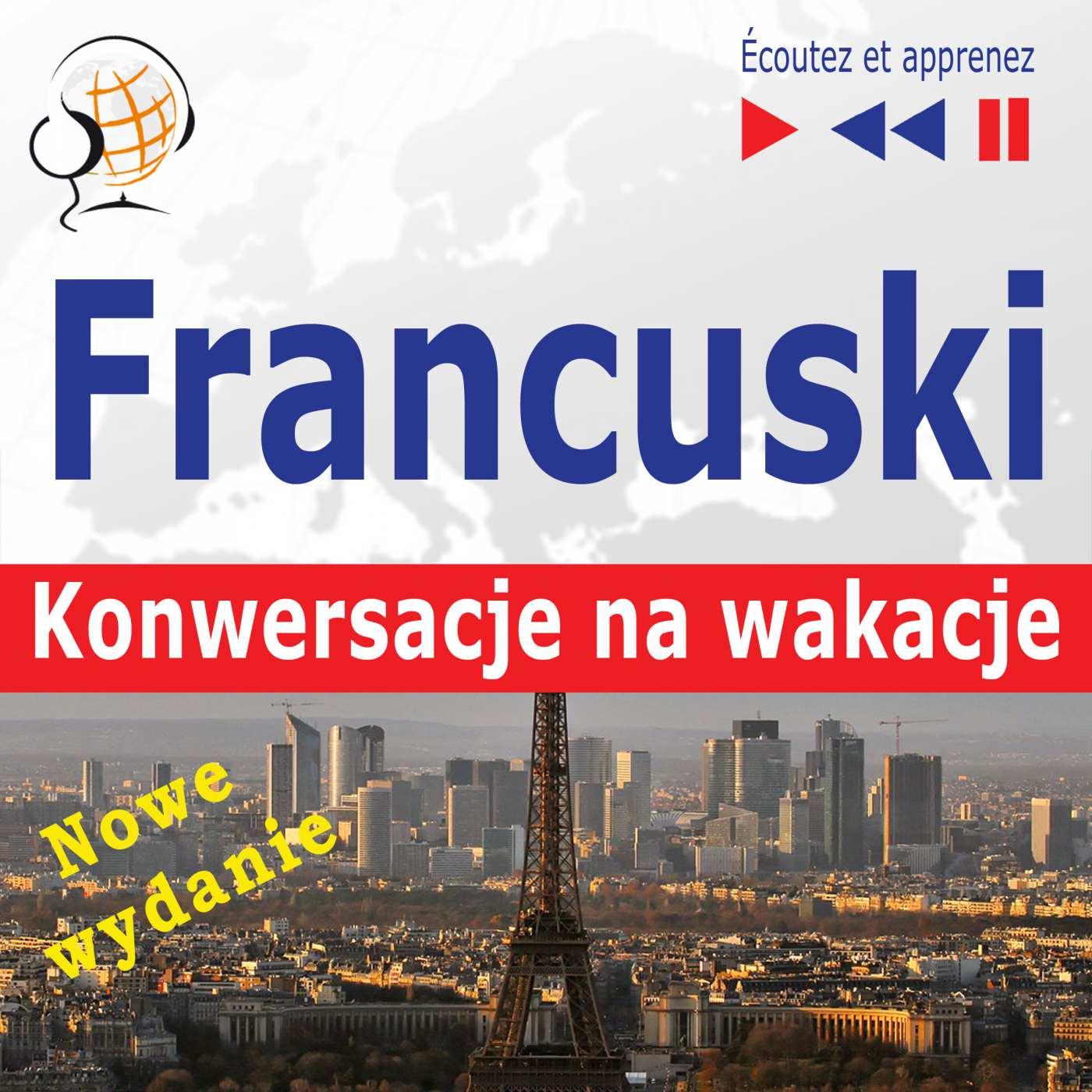 Francuski. Konwersacje na wakacje: Conversations de vacances - Audiobook (Książka audio MP3) do pobrania w całości w archiwum ZIP