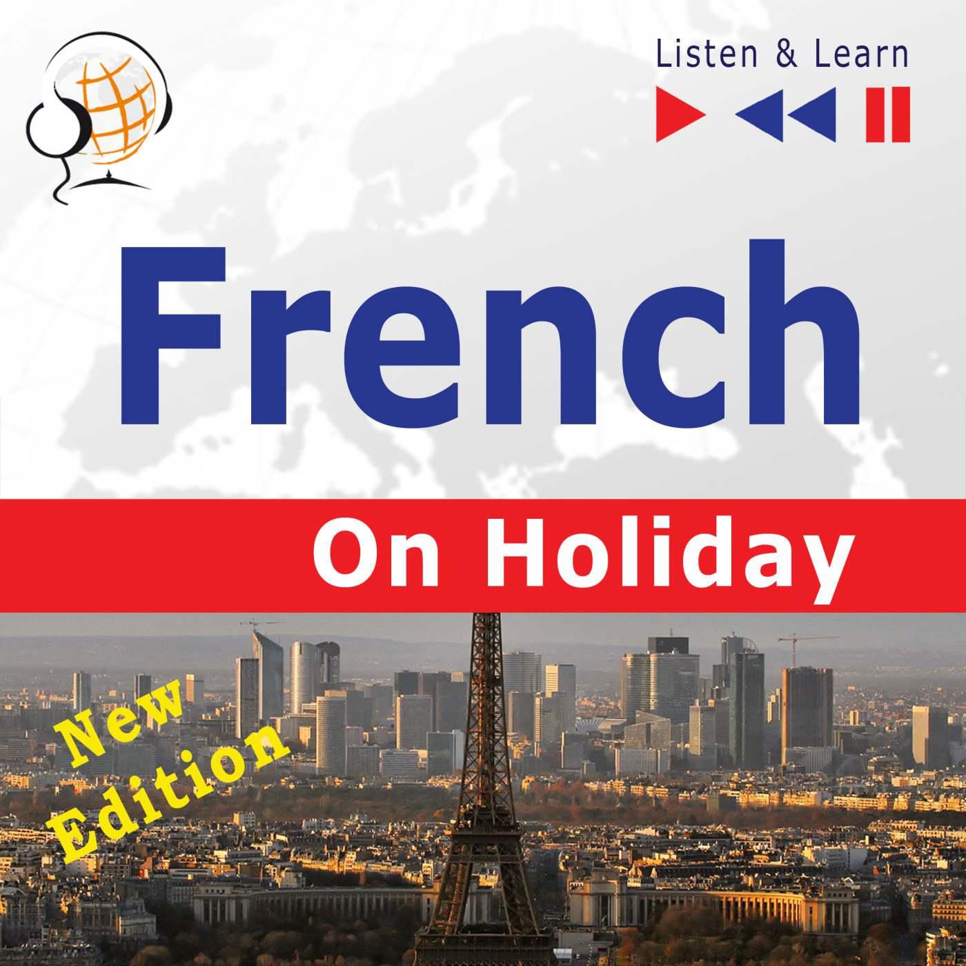 French on Holiday: Conversations de vacances - Audiobook (Książka audio MP3) do pobrania w całości w archiwum ZIP