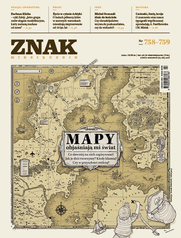 Miesięcznik ZNAK nr 758-759: Mapy objaśniają mi świat - Ebook (Książka na Kindle) do pobrania w formacie MOBI