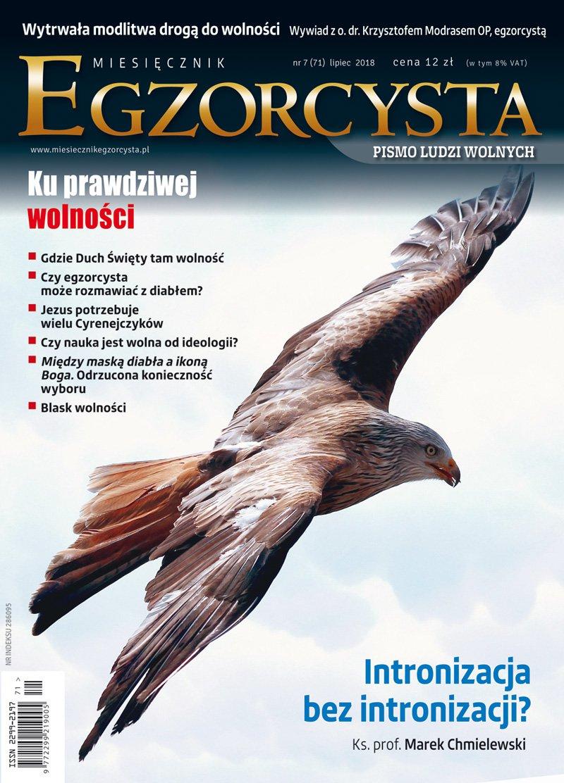 Miesięcznik Egzorcysta. Lipiec 2018. Numer 71 - Ebook (Książka PDF) do pobrania w formacie PDF