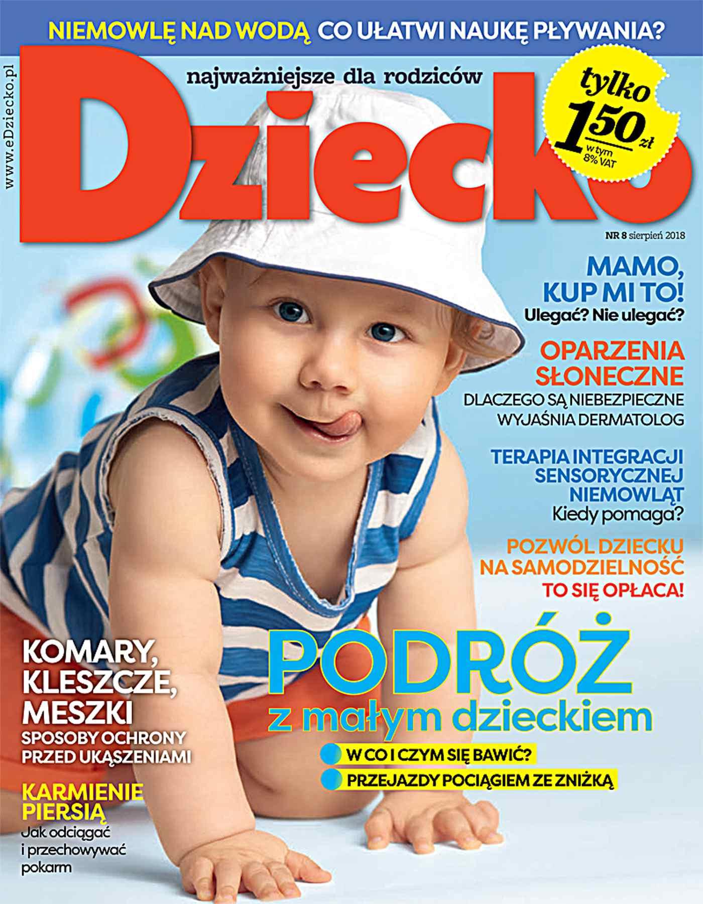 Dziecko 8/2018 - Ebook (Książka PDF) do pobrania w formacie PDF