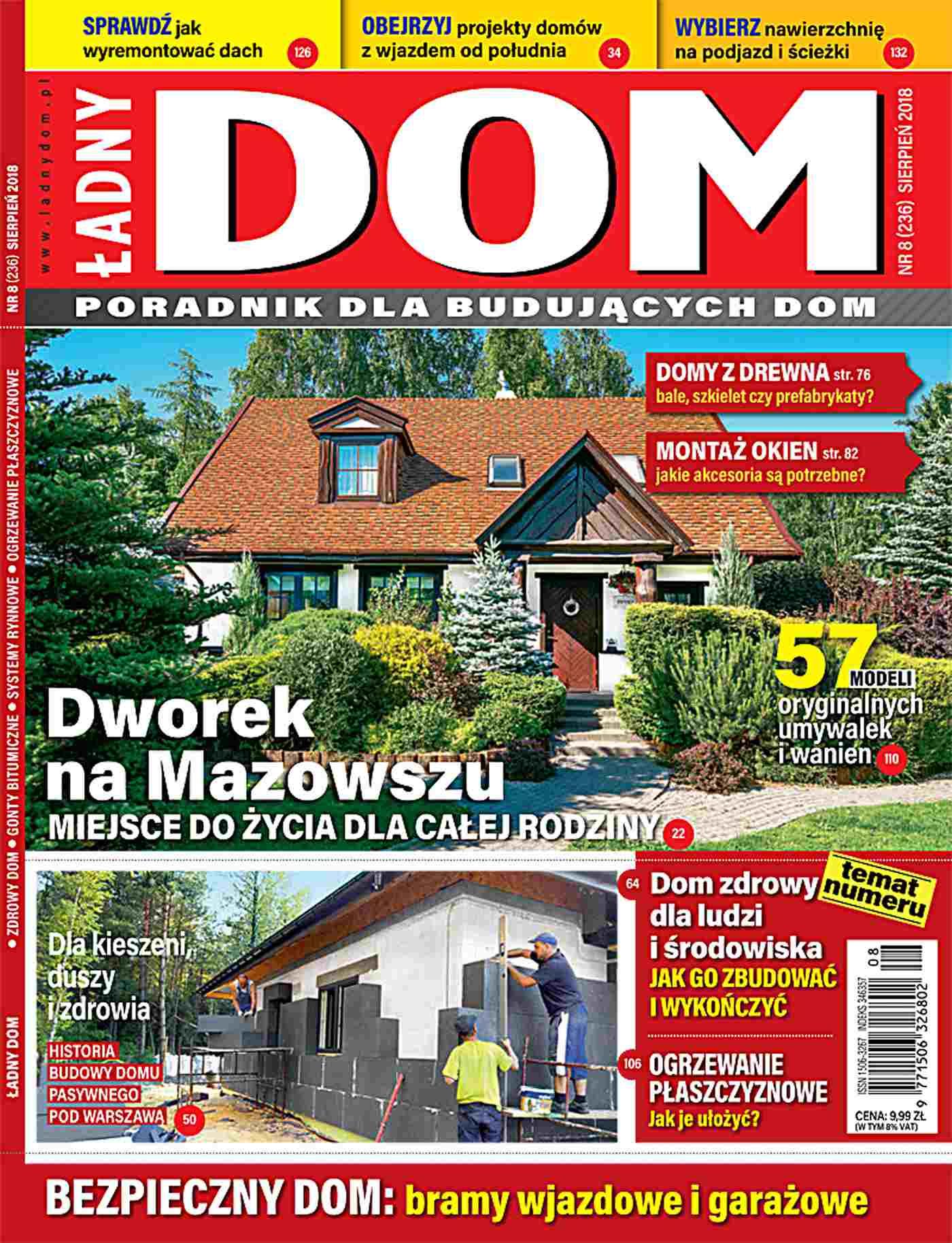 Ładny Dom 8/2018 - Ebook (Książka PDF) do pobrania w formacie PDF