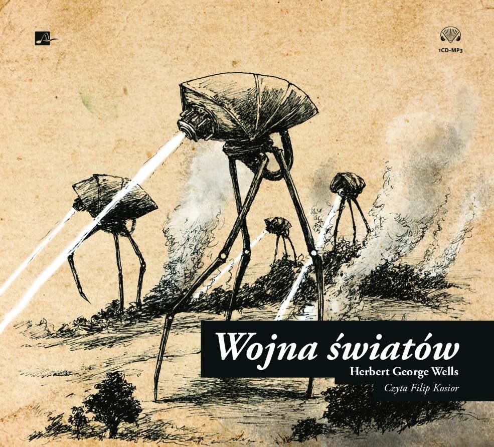 Wojna światów - Audiobook (Książka audio MP3) do pobrania w całości w archiwum ZIP
