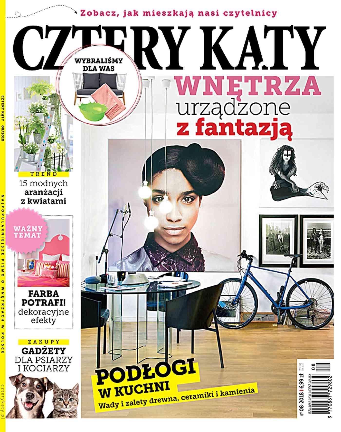 Cztery Kąty 8/2018 - Ebook (Książka PDF) do pobrania w formacie PDF