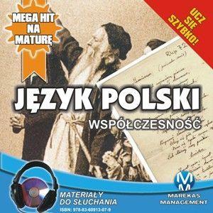 Język polski - Współczesność - Audiobook (Książka audio MP3) do pobrania w całości w archiwum ZIP
