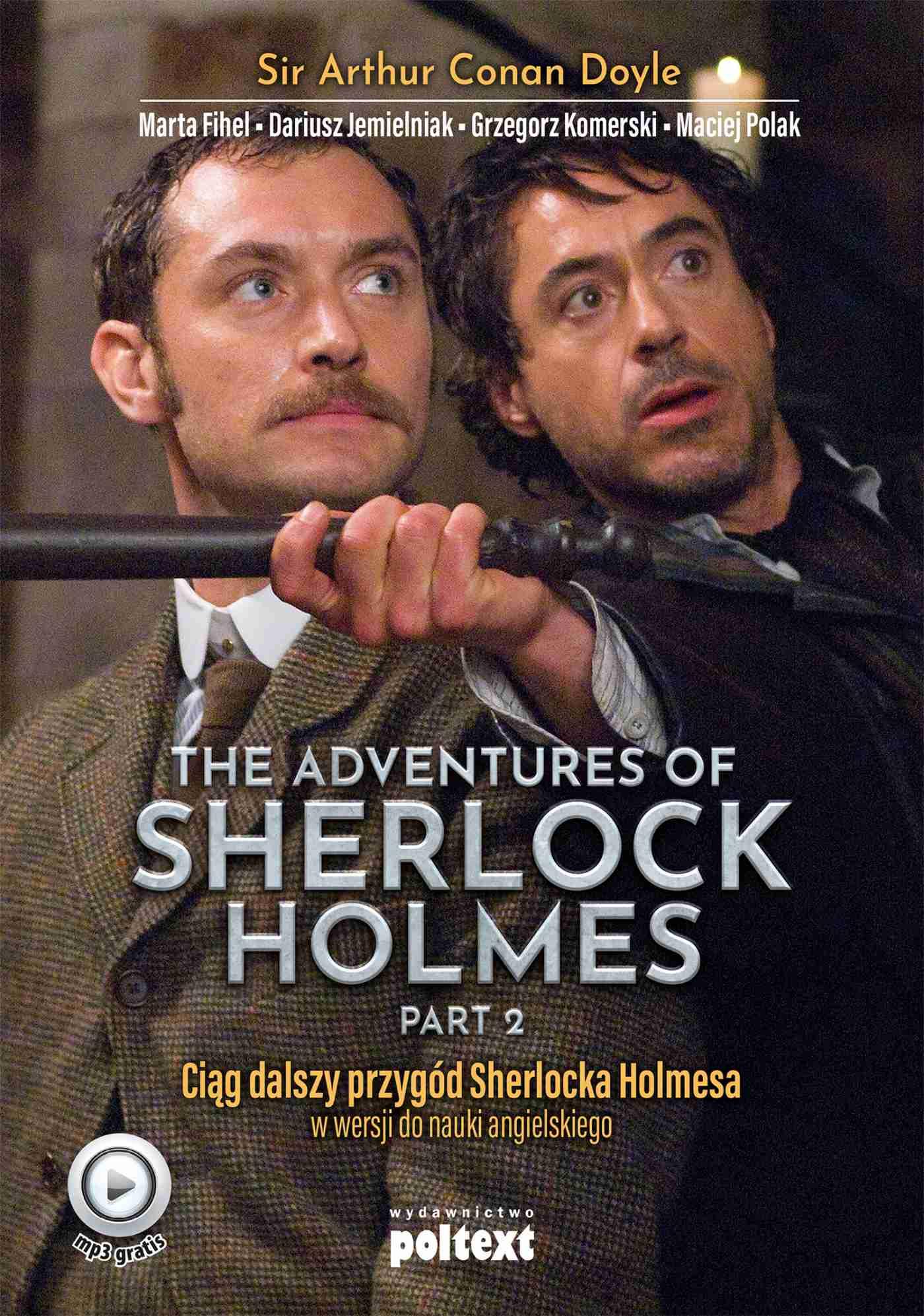 The Adventures of Sherlock Holmes. Przygody Sherlocka Holmesa w wersji do nauki angielskiego - Ebook (Książka EPUB) do pobrania w formacie EPUB