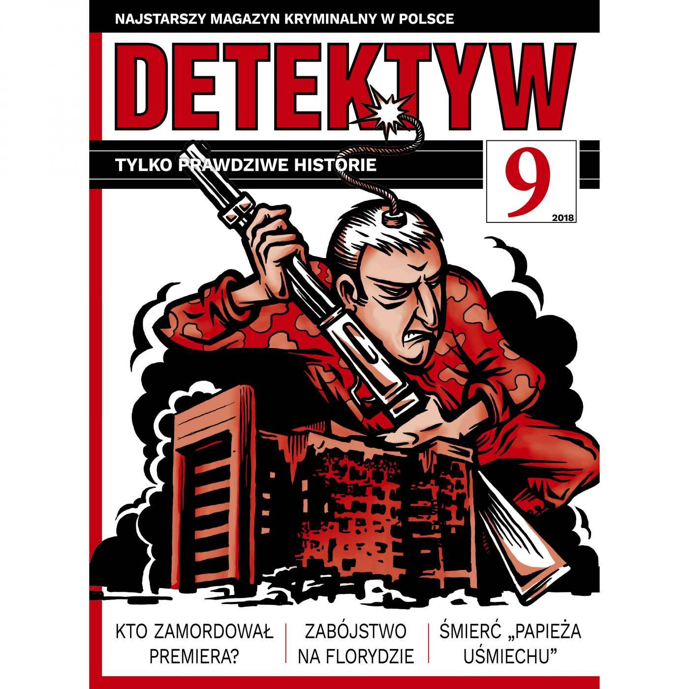 Detektyw 9/2018 - Audiobook (Książka audio MP3) do pobrania w całości w archiwum ZIP