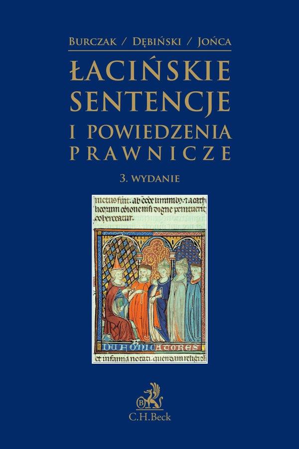 Łacińskie sentencje i powiedzenia prawnicze. Wydanie 3 - Ebook (Książka PDF) do pobrania w formacie PDF
