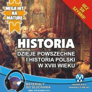 Historia - Dzieje powszechne i historia Polski w XVIII wieku - Audiobook (Książka audio MP3) do pobrania w całości w archiwum ZIP