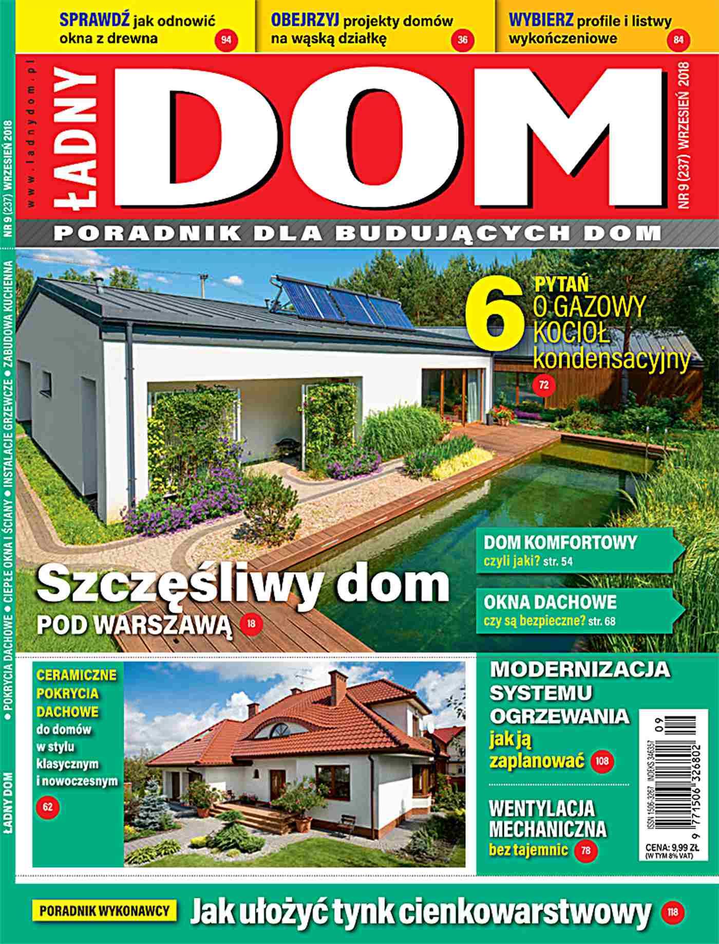 Ładny Dom 9/2018 - Ebook (Książka PDF) do pobrania w formacie PDF