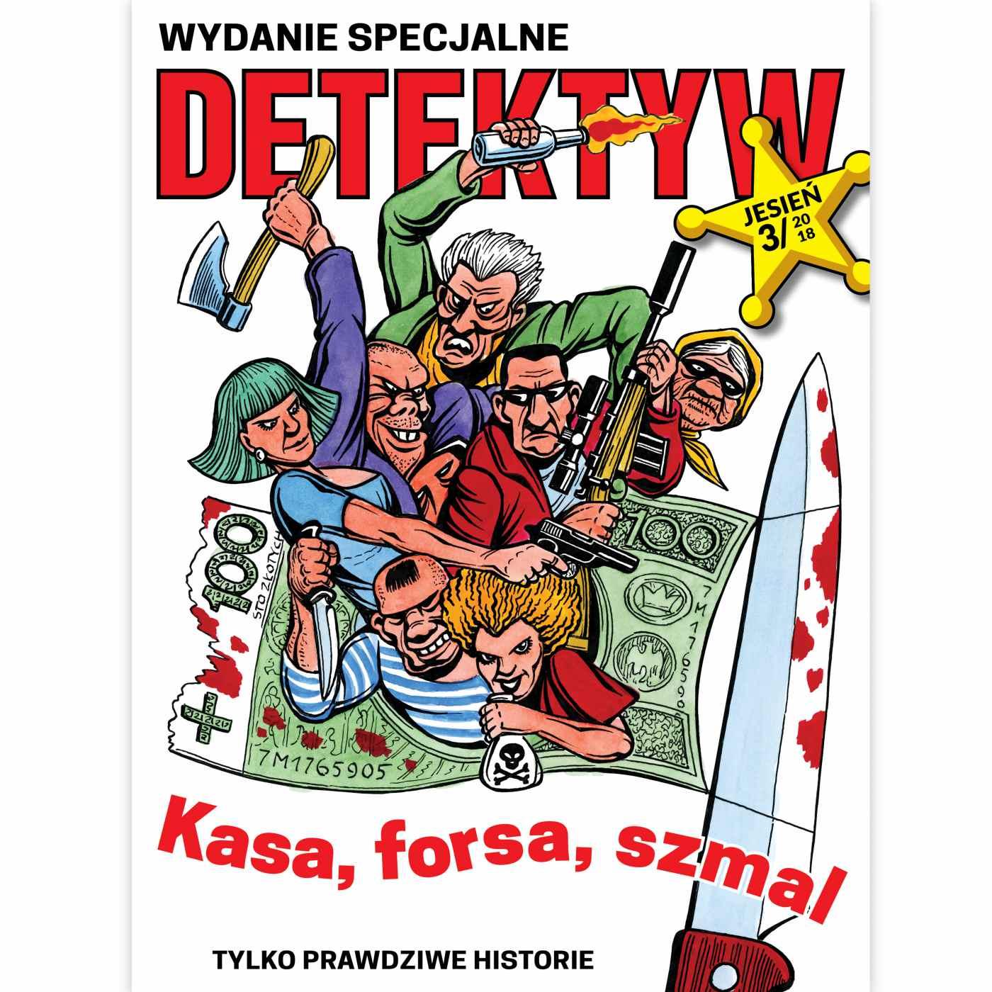 Detektyw Wydanie Specjalne 3/2018 - Audiobook (Książka audio MP3) do pobrania w całości w archiwum ZIP
