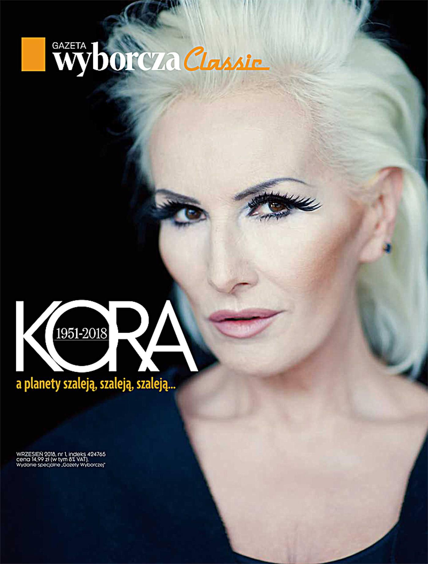 Kora. Gazeta Wyborcza Classic 1/2018. Wydanie Specjalne - Ebook (Książka EPUB) do pobrania w formacie EPUB