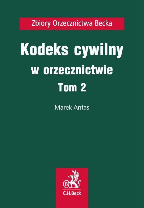 Kodeks cywilny w orzecznictwie. Tom 2 - Ebook (Książka na Kindle) do pobrania w formacie MOBI