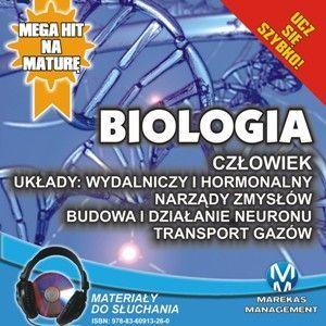 Biologia - Człowiek. Układy wydalniczy i hormonalny. Narządy zmysłów - Audiobook (Książka audio MP3) do pobrania w całości w archiwum ZIP
