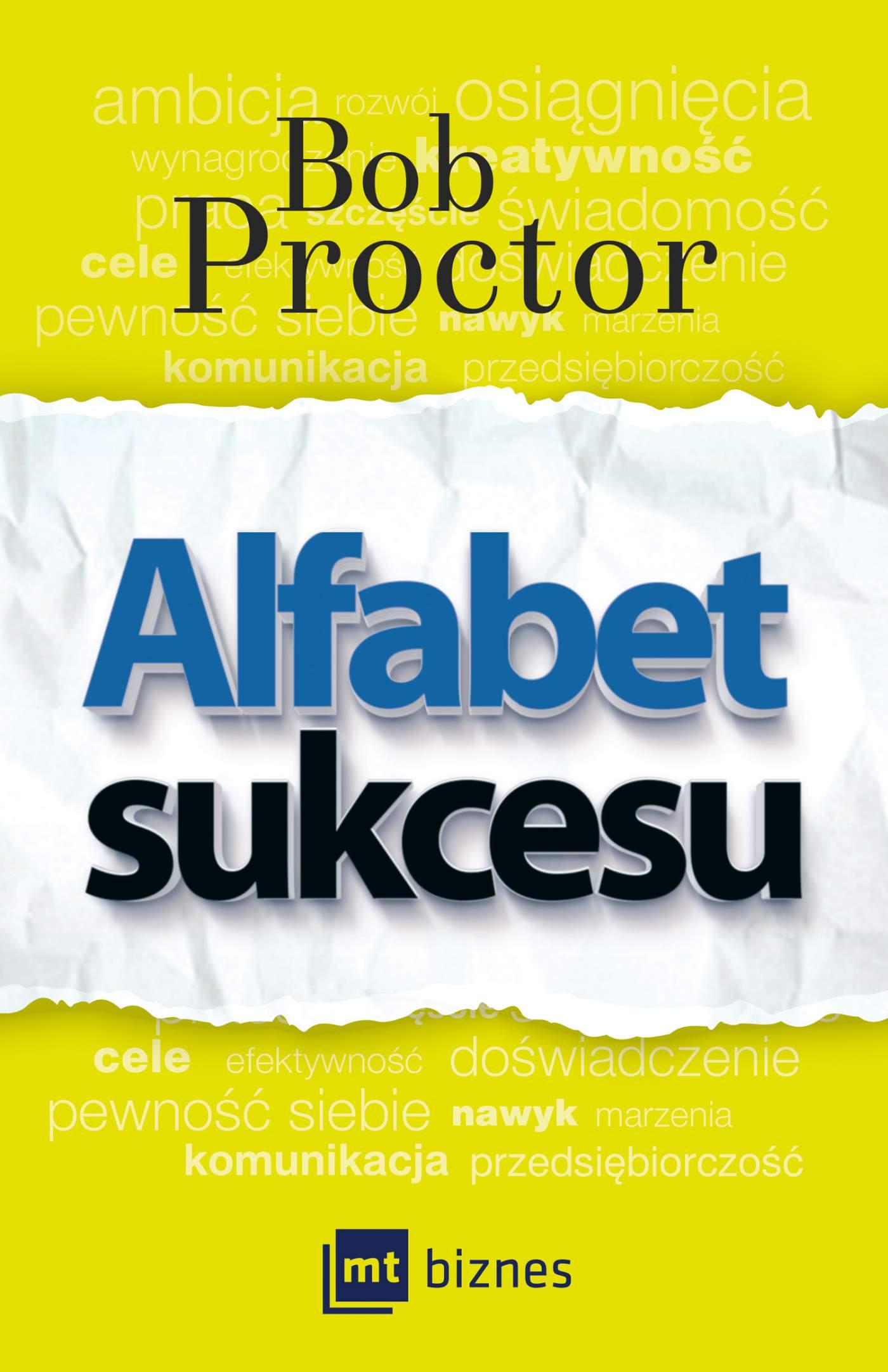Alfabet sukcesu - Ebook (Książka EPUB) do pobrania w formacie EPUB