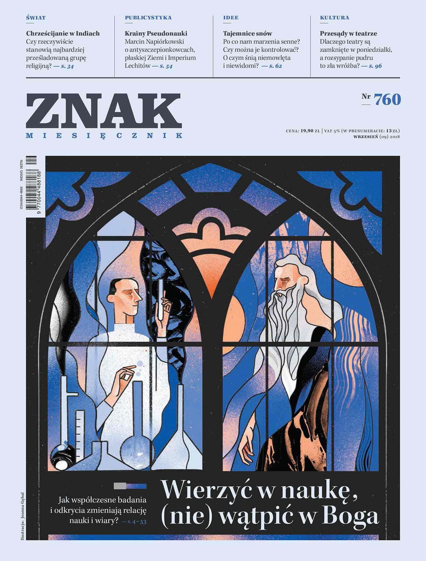 Miesięcznik ZNAK nr 760: Wierzyć w naukę, (nie) wątpić w Boga - Ebook (Książka na Kindle) do pobrania w formacie MOBI