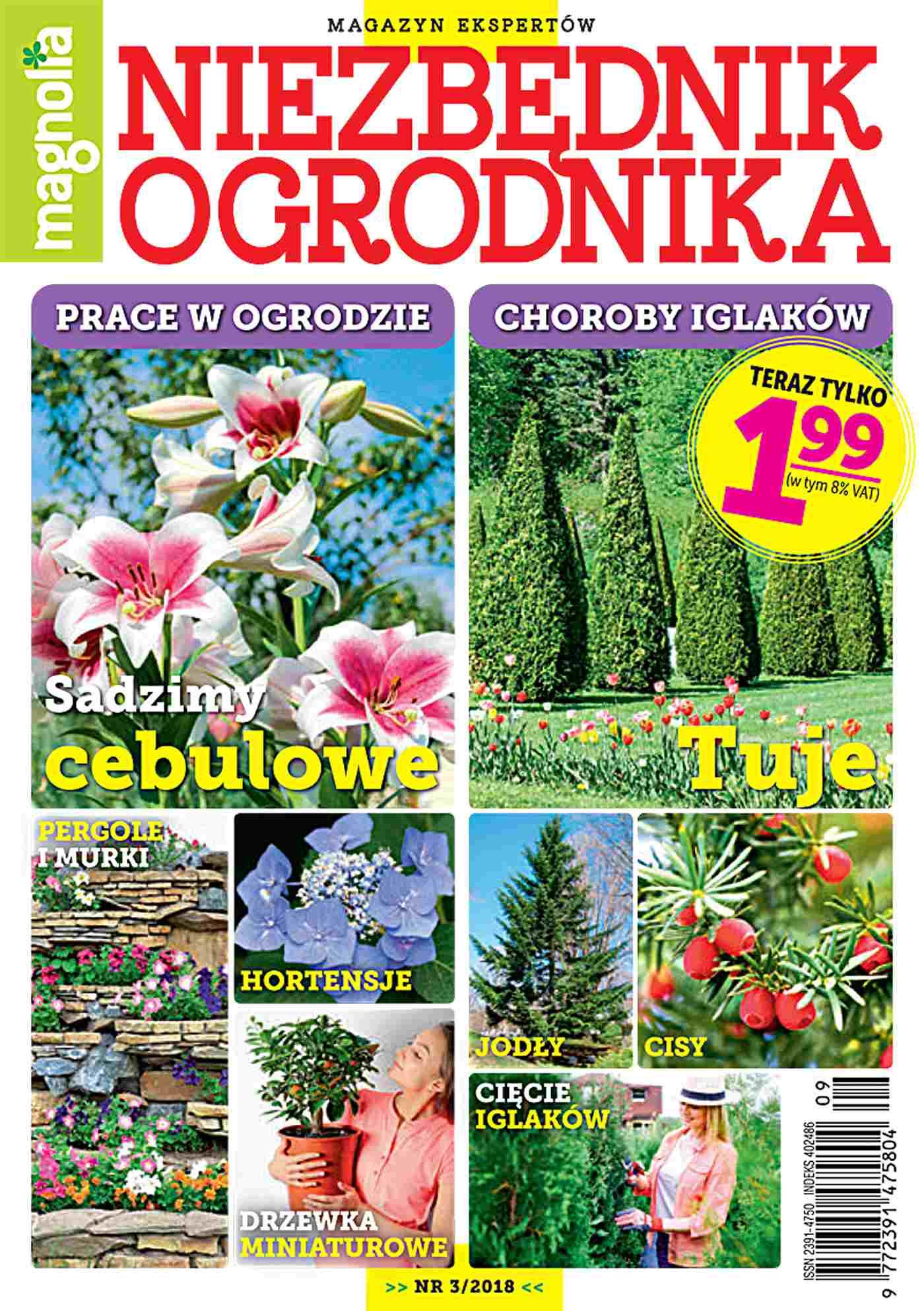 Niezbędnik Ogrodnika 3/2018 - Ebook (Książka PDF) do pobrania w formacie PDF